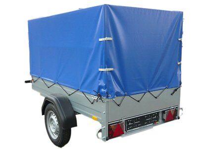 STEMA Pkw Anhänger OPTI 750 Kg mit Plane 13Zoll 100KM/H Freig. 201x108x110cm 2