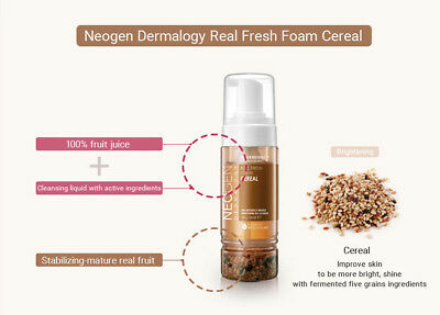[NEOGEN] Dermalogy Real Fresh Foam 160ml 3