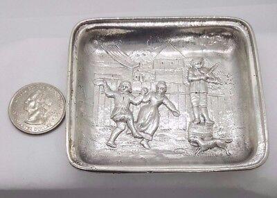 Shreve & Co Antique Sterling Silver Dish (Mint, trinket, dip dish) 925 2