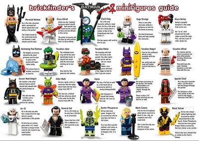 Lego ® Minifig Cheveux Chapeau Batman Movie Série 2 Choose Hear 71020 NEW