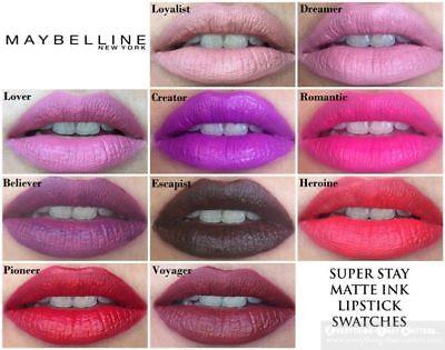 Maybelline Superstay 24 Matte Ink Lipstick 5ml Choose Shade