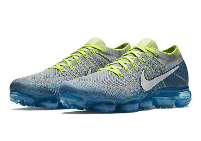 b52379ccee ... Nike Air Vapormax Flyknit Zero Sprite Wolf Grey White Chlorine Blue  849558-022 8