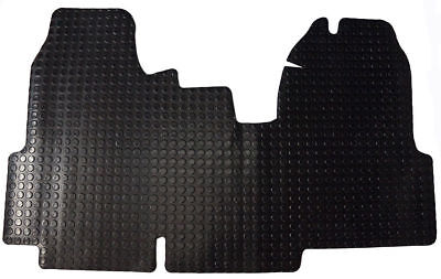 Heavy Duty Rubber Floor Mat Ford Transit MK7 2006 - 2013 Tailored Fit Mats 1 PCE 2