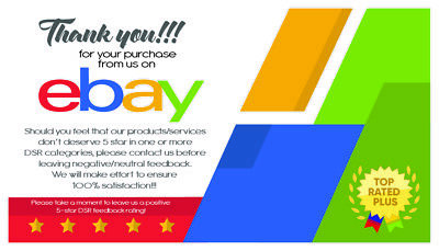 500 EBAY SELLER Personalized Business Cards-FREE SHIPPING-Glossy or Matte 11