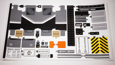 LEGO Technic Technik BAUANLEITUNG für 42078 Mack Anthem NEU mit  Sticker