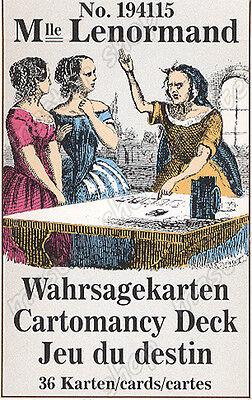 Mile Lenormand #1941 Cartomancy Tarot Cards - 3 Languages #121 2