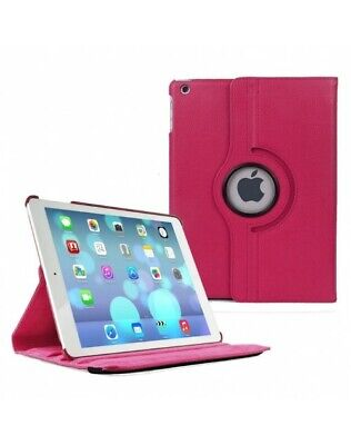 For iPad Case Cover Leather Shockproof 360 Rotating Stand ALL MODELS 9