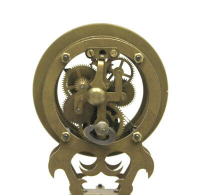 German Style Junghans Brass Elephant Swinging Clock with 8 Day Skeleton Movement 8