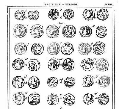 DVD 115 rare  works on celtic and gallic coins 3