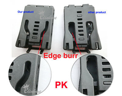 """73mm *25mm 1.5"""" Belt Holster Sheath Kydex Clip for Mod-U-Lok Belt Loop Platform"""