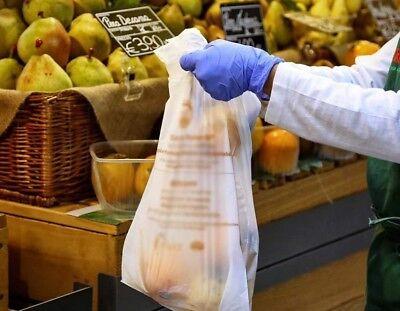 👜👕 500 Shoppers Biodegradabili 24x40 Mini Sacchetti a Norma Buste Spesa 🍌 3