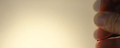 THIN RECTANGULAR ALUMINA CERAMIC SHEET  No.: 110 12