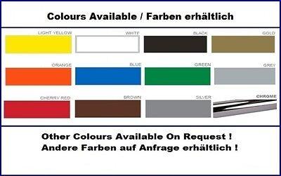1 Paar FIAT 500 - Auto Seiten Aufkleber - Car Sticker ! 2