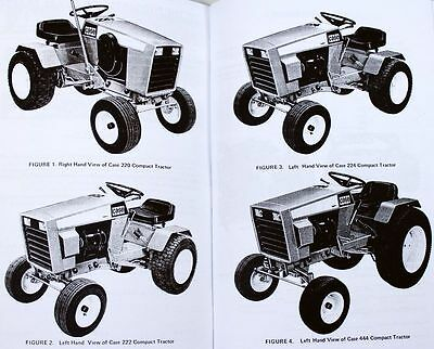 Case 220 222 444 Pact Tractors Operators Owners Manual Parts. 2 Of 11 Case 220 222 444 Pact Tractors Operators Owners Manual Parts Catalog Kohler. Wiring. Case 222 Wiring Diagram 1 2 Hp Kohler At Scoala.co