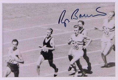 Roger Bannister - Hand-Signed & Authenticated - 1954 2