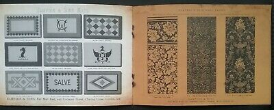 Victorian House Furnishings Designs Catalogue **(See Description For Details)** 9