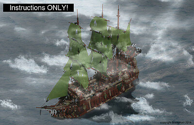 custom pirates of the caribbean flying dutchman lego. Black Bedroom Furniture Sets. Home Design Ideas