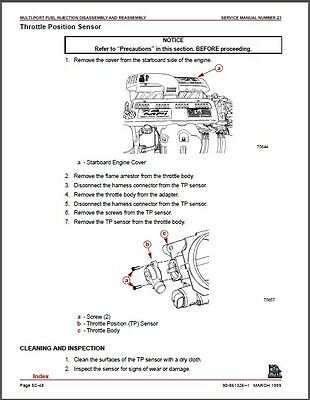 1998-2001 MERCRUISER # 23 GM V-8 454 & 502 CID (Gen VI & L-29) Service  Manual CD