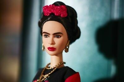 ❤ Frida Kahlo Mattel Barbie Doll Inspiring Women Series Mexican Artist IN STOCK❤ 5