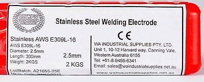 2.5Mm Electrodes Stick *2Kg* Pkt E309L-16 Stainless Steel Welding Rods *Olympic* 2