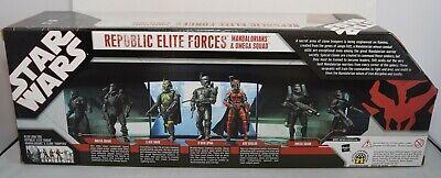 Star Wars 3.75 Trooper Action Figure Republic Elite Forces Collection five fleet