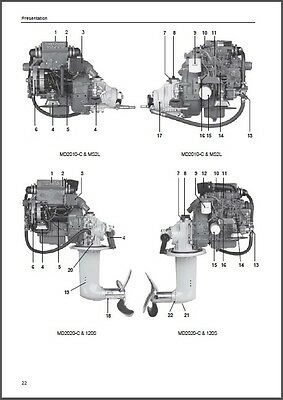 volvo md2020a md2020b md2020c marine engine full service repair manual