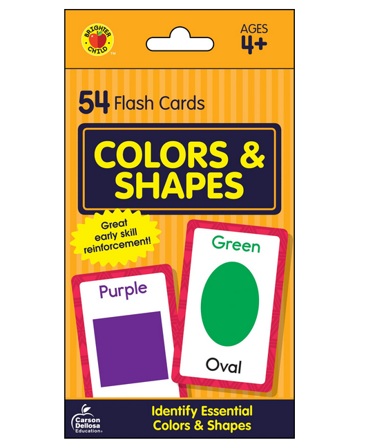 Children's Flash Cards Kids Educational Pre School Learning Brighter Child Gift 12