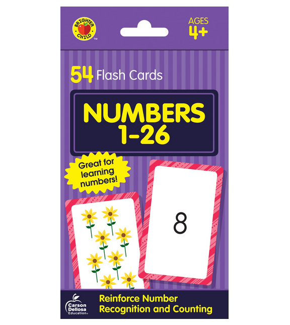 Children's Flash Cards Kids Educational Pre School Learning Brighter Child Gift 11