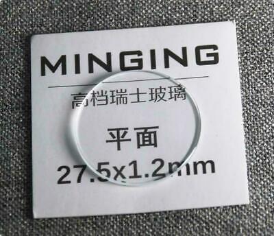 1.2mm Dick 26-40mm Rund Flach Saphir Uhr Glas Hochwertig Uhr Kristall