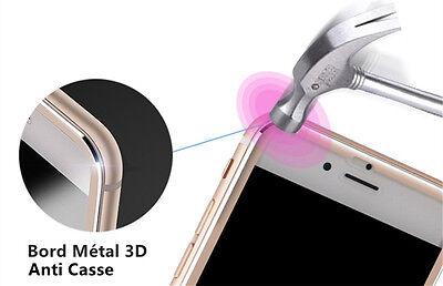Vitre film protection verre trempé FULL 3D ALUMINIUM iPhone 7/6/6S/8/X/XR/XS/MAX 3
