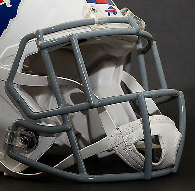 4ebbdb8d ***CUSTOM*** BUFFALO BILLS NFL Riddell Speed AUTHENTIC Football Helmet