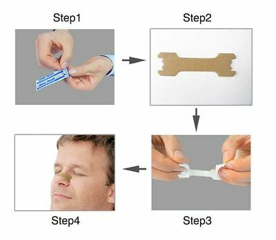 1000 Better Breath NASAL STRIP Right Aid Stop Anti Snoring Easy Sleep FREE pp UK 6