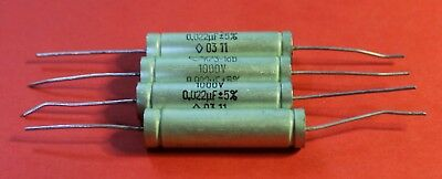 Capacitor PETP K73-16V 400V 0.47uF  USSR Lot of 10 pcs
