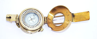 Military Compass Engineering Compass Prismatic Vintage Nautical Style Handmade 7