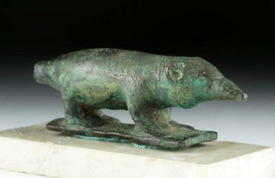 Egyptian Bronze Shrew Adornment (from Sarcophagus) Lot 4A