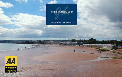 Luxury Devon Holiday Penthouse Sea views + Hot tub + Pool  Sat 5 -  Thur 10 Oct 11