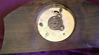 8 day rosewood mantel clock 3