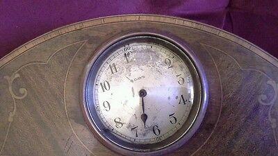 8 day rosewood mantel clock 4