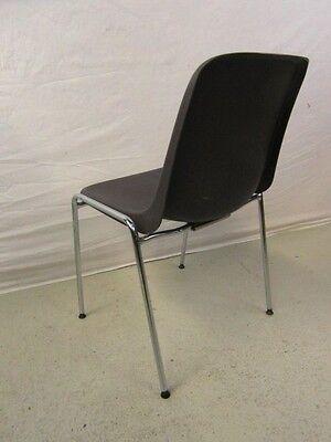 6 st ck st hle design kunststoff mauser stuhl 1991 chrom sitzm bel stapelstuhl eur 240 00. Black Bedroom Furniture Sets. Home Design Ideas