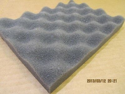 1X SOFT RECYCLED foam packing sheet pad shipping flexible protection GRAY 6  x 8