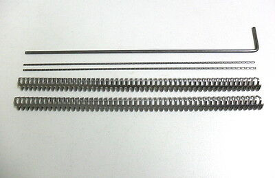 "Flexco Alligator Belt Lacing Fasteners  - 1 X 12"" Joiner Set - 15E - Made In Usa 4"