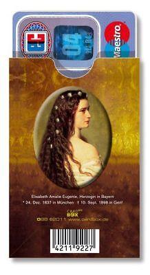 Kartenhülle cardbox SISSI Sisi Kaiserin Elisabeth von Österreich Possenhofen