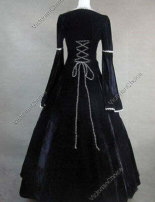 Renaissance Medieval Game Of Thrones Queen Gown Dress Theater Clothing 129 XL