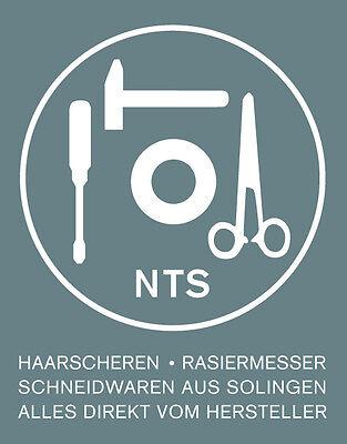 "Barber-Edition 7,0"" Friseurschere Haarschere Carbonstahl brüniert, NTS-Solingen 4"