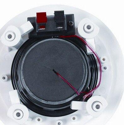 "30W RMS// 60W Peak MCM AUDIO 50-14010 6 1//2/"" 8 Ohm Two-Way Ceiling Speaker Pair"
