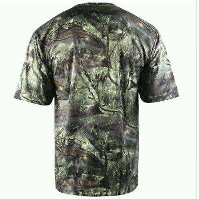 Walleye//Black Fishouflage Angler Performance Camp Shirt L