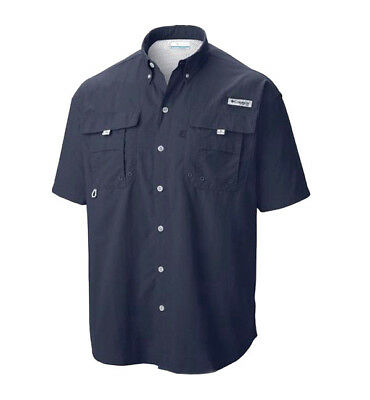 2832c2306b3 ... NEW COLUMBIA Mens PFG Bahama II Short Sleeve Vented Fishing Shirt UPF  30 7