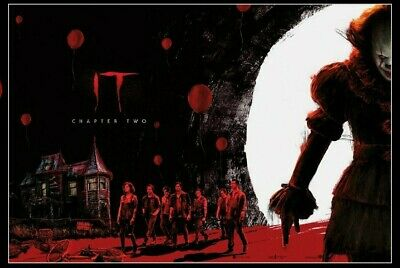 ODEON Exclusive IT Chapter 2 A4 Poster Parts 1 and 2 Complete set. 2