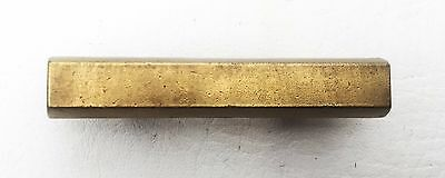 """Brass Mid Century Modern Drawer Pull Vintage  Antique Hardware  1 3/4"""" centers 3"""