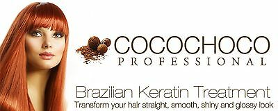 Cocochoco Brazilian Keratin Treatment Blow Dry Hair Straightening 1 Litre + Comb 2